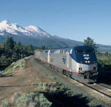 Amtrak Empire Builder Train