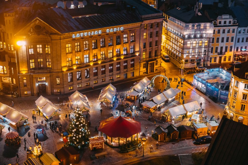 Christmas in Riga, Latvia