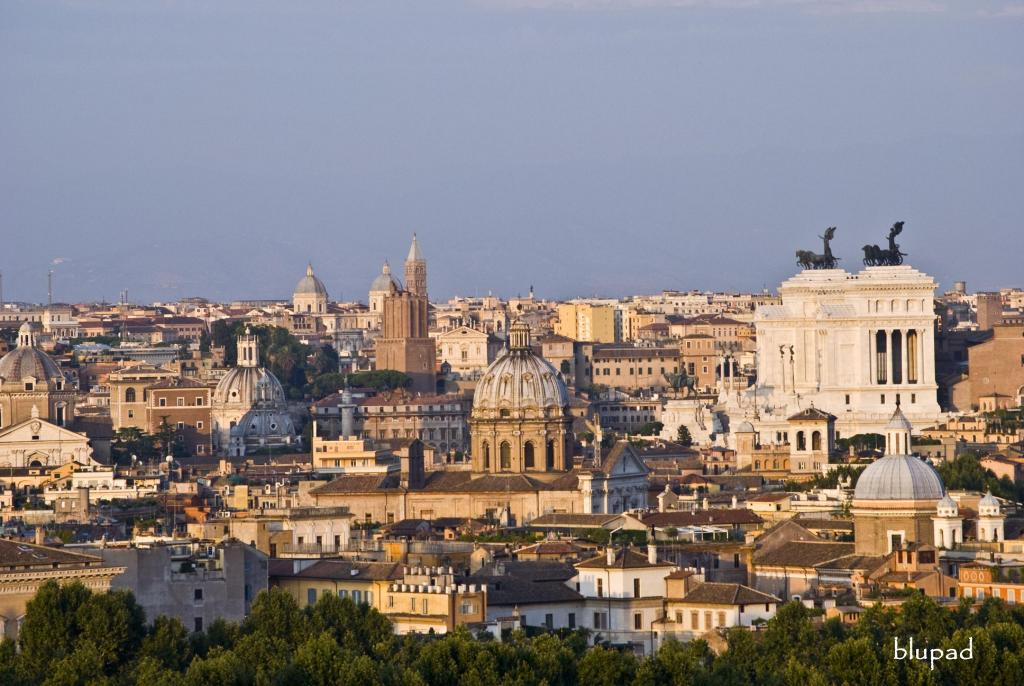Rome  Districts  The Gianicolo  Rome Information