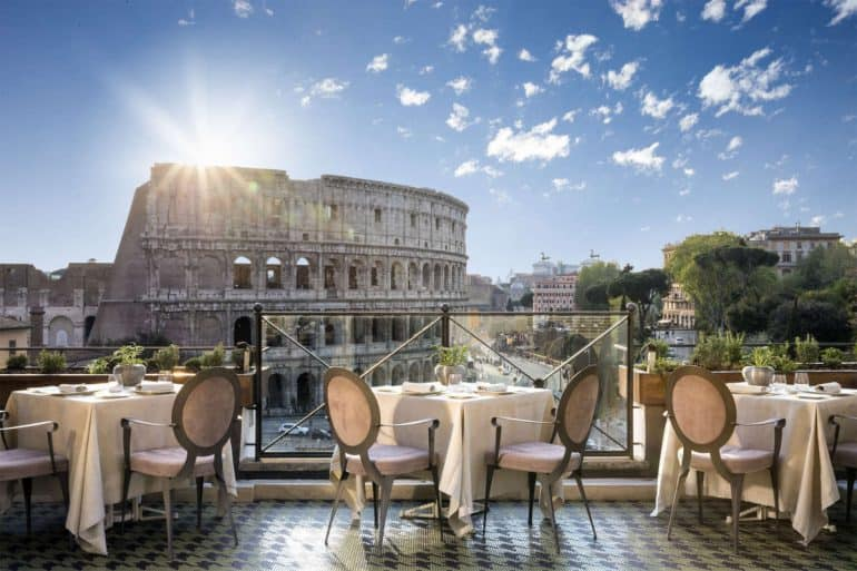The Best Restaurants with a View in Rome  Romeing