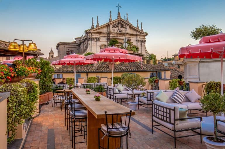 Best Rooftop Bars in Rome