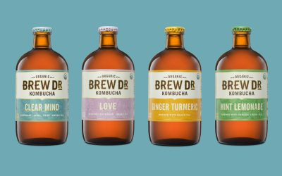 Now Available! Brew Dr Kombucha!
