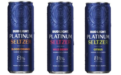New Bud Light Platinum Seltzer!