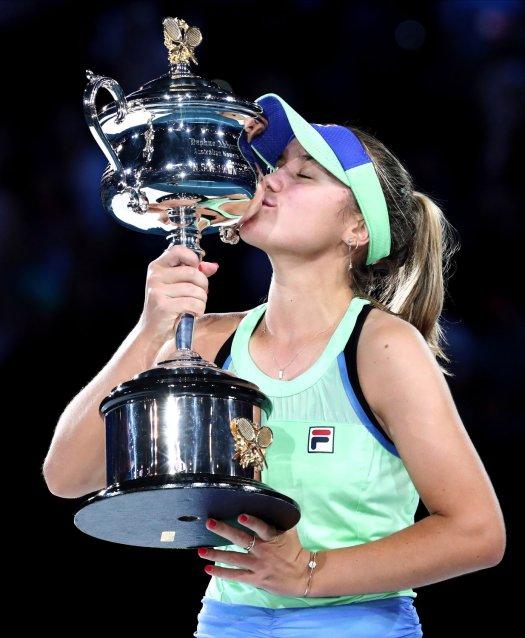 Kenin tops Muguruza at Australian Open for first major ...