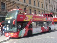 City Sightseeing Rome Hop On Hop Off Open Top Sightseeing Bus
