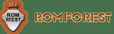 Romforest logo