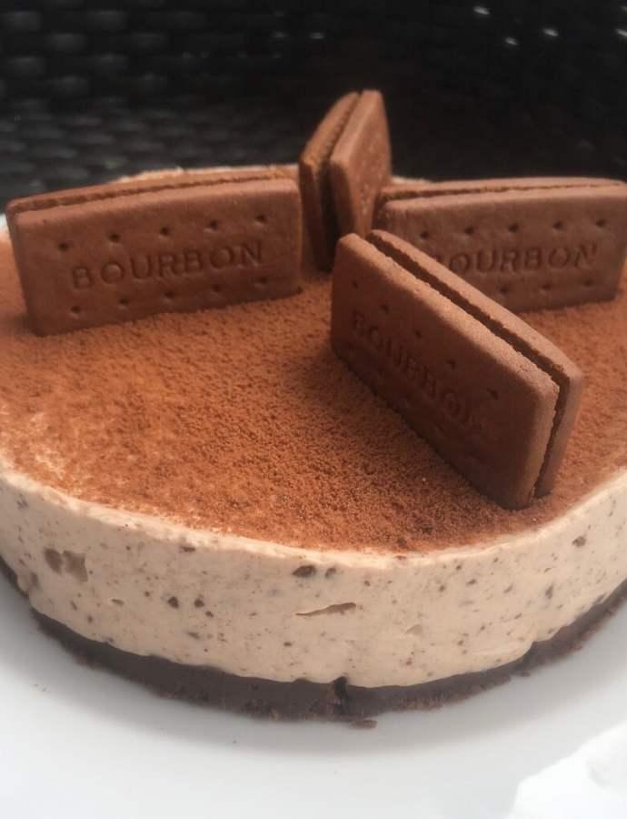 No Bake Bourbon Creams Cheesecake