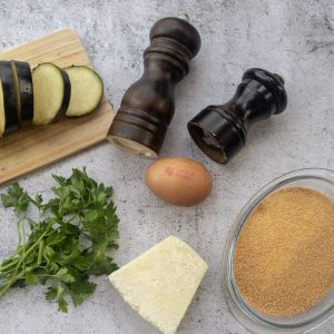 Aubergine Fritters Ingredients