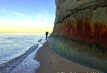 westmoreland state park beach, northern neck potomac cliffs
