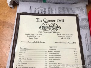 corner deli restaurant remington virginia