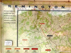 remington virginia bicycle trails fauquier