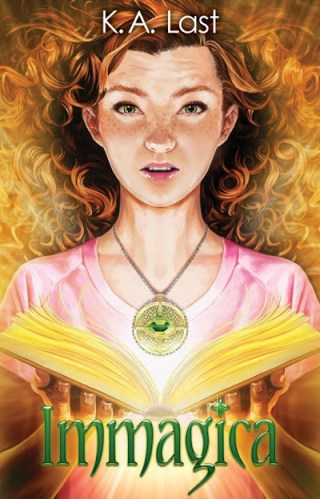 { cover reveal } Immagica by K.A. Last