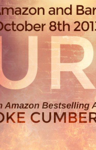 { cover reveal + giveaway } Burn by Brooke Cumberland