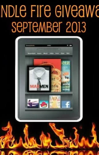 ** GIVEAWAY ** Kindle Fire Giveaway September 2013 !!