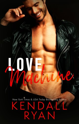 Cover Reveal | Love Machine by Kendall Ryan