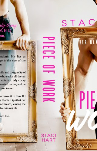 Cover Reveal | Piece of Work by Staci Hart