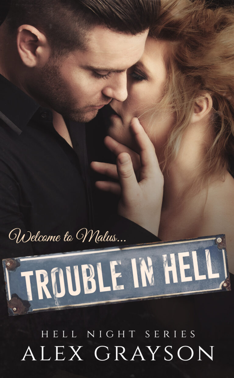 #CoverLove | Trouble in Hell by Alex Grayson