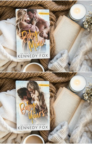 #CoverLove | Baby Mine and Baby Yours by Kennedy Fox