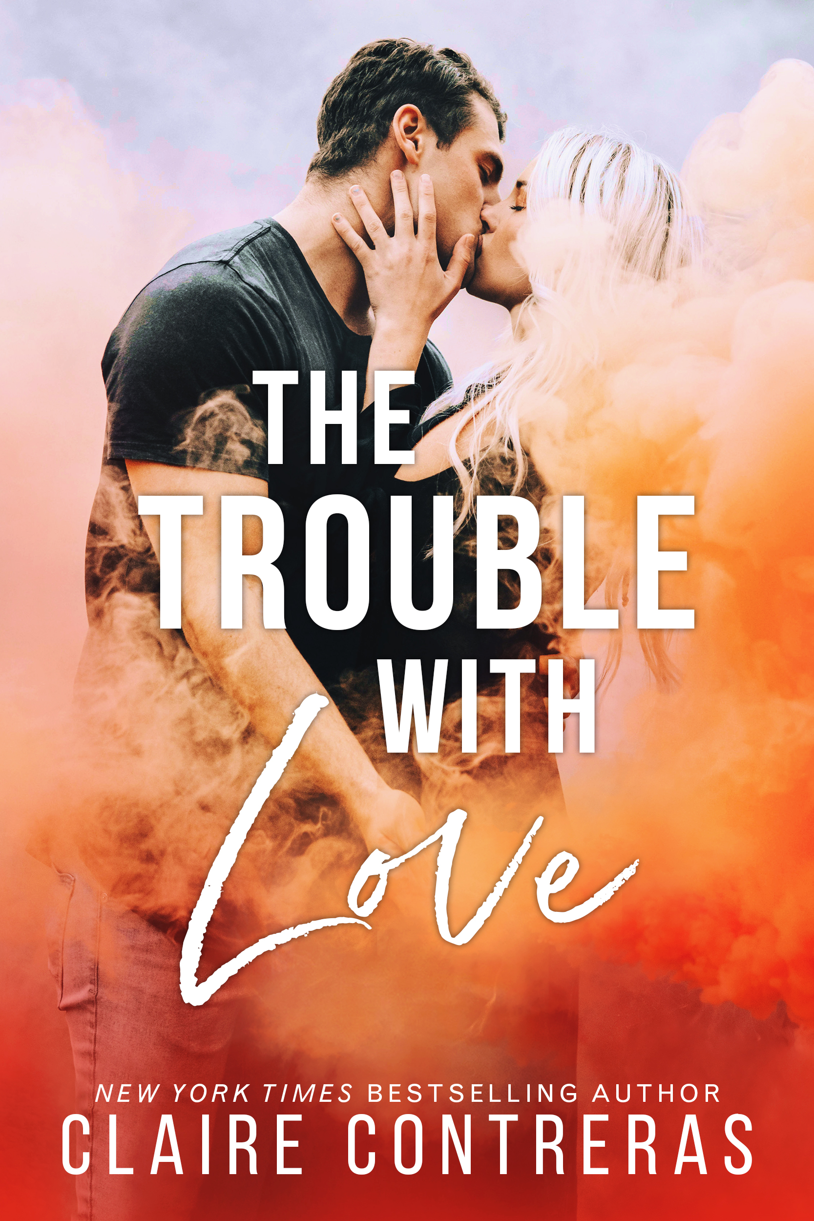 #CoverLove | The Trouble With Love by Claire Contreras
