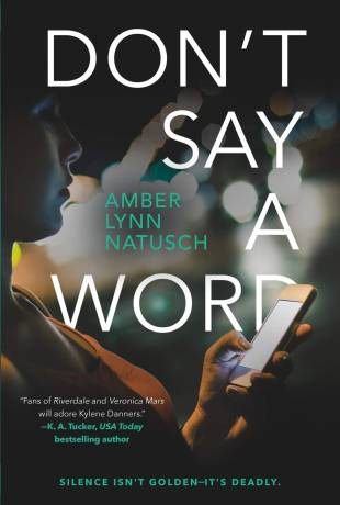 Review   Don't Say a Word by Amber Lynn Natusch