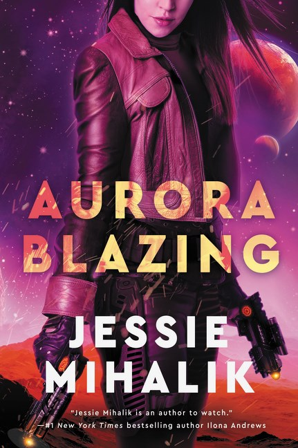 Review | Aurora Blazing by Jessie Mihalik