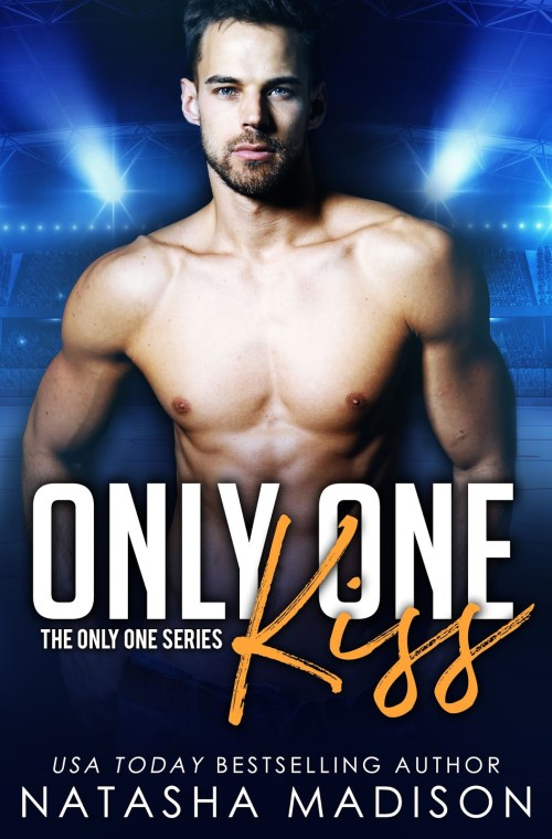 Review | Only One Kiss — Hockey romance, single parent, rule of not dating clients.