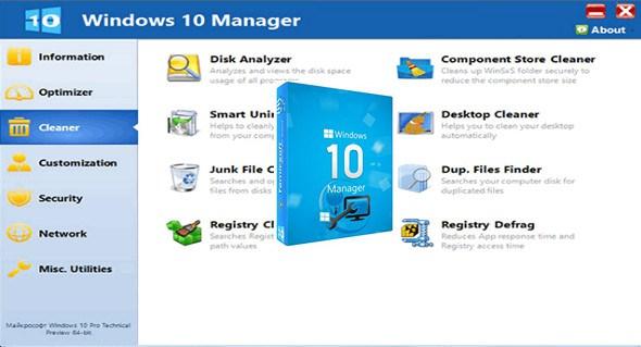 Yamicsoft Windows 10 Manager 2.3.0 Portable (Windows)