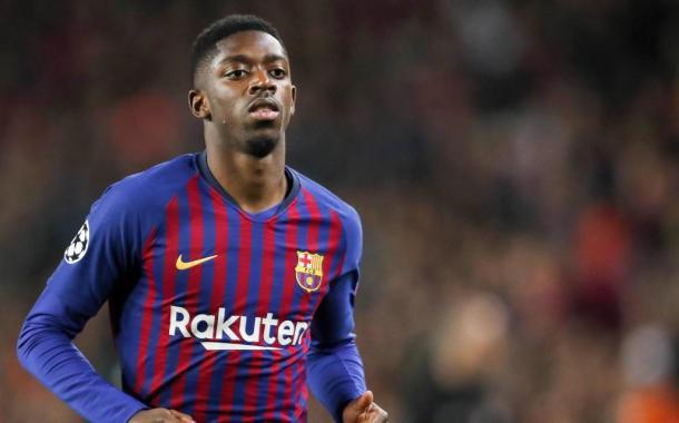 Dembélé offre le nul au Barça