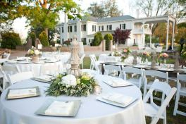 open air wedding venue