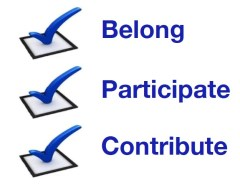 Belong, Participate, Contribute