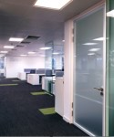 Glass Doors Partitioning