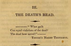 Death's Head-Epigraph
