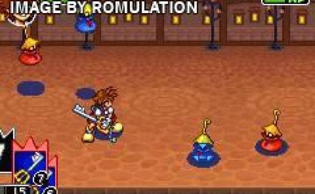 Kingdom Hearts Chain Of Memories Usa Gba Nintendo