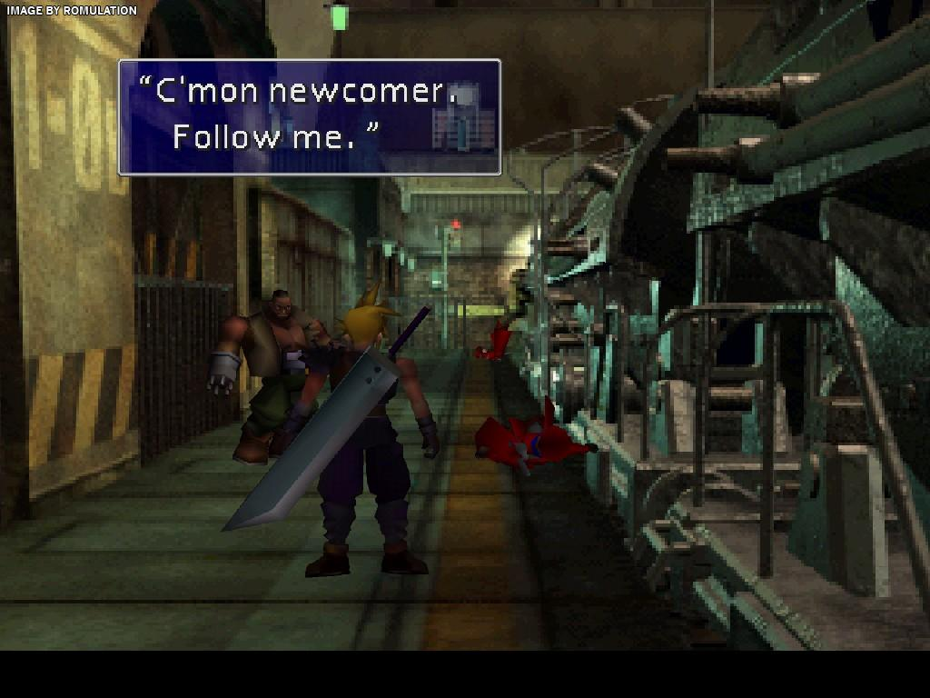 Final Fantasy VII Disc 2 Of 3 USA PSX Sony PlayStation ISO Download RomUlation