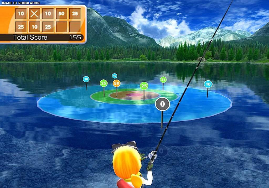 Fishing Resort USA Nintendo Wii ISO Download RomUlation