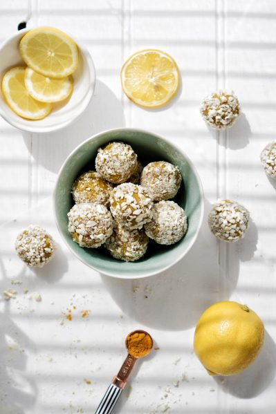 Vegan Bliss Balls Recipe Turmeric Protein