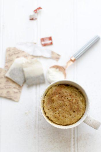 Vegan Mug Cake Vanilla