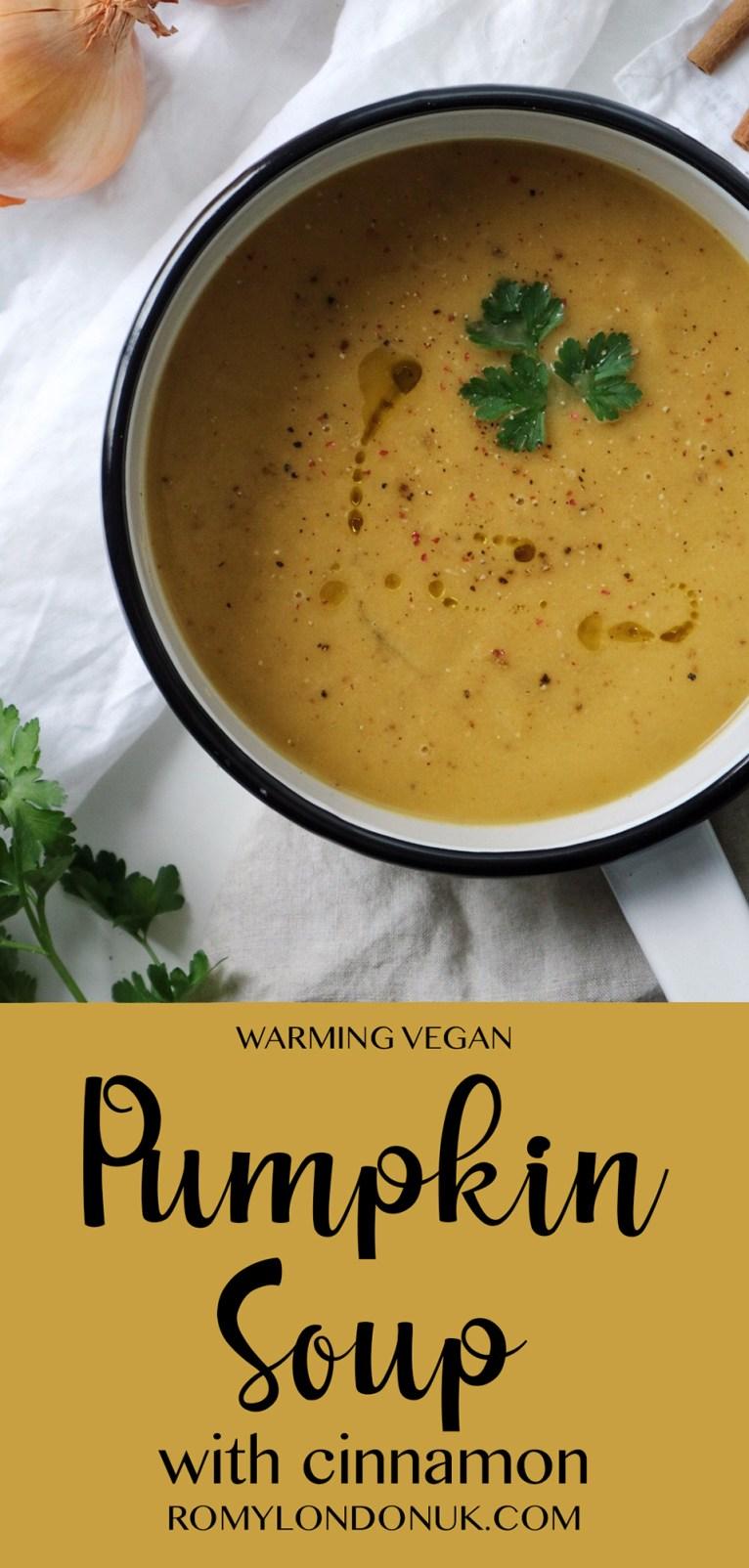 Vegan Creamy Pumpkin Soup Recipe