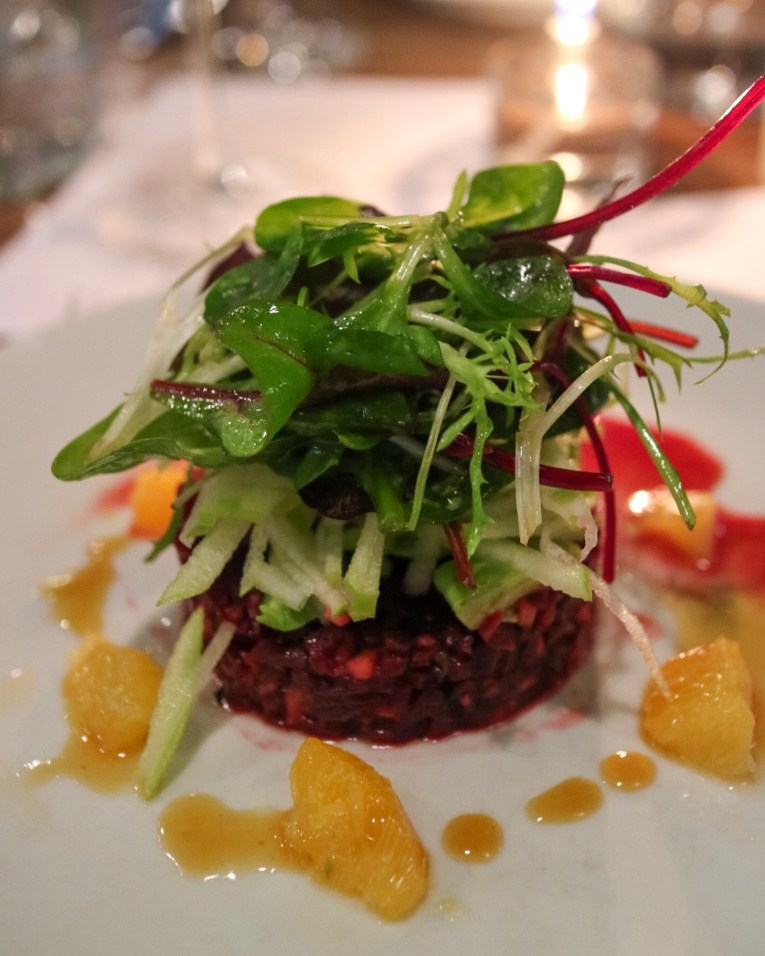 Vegan Beetroot Tartare