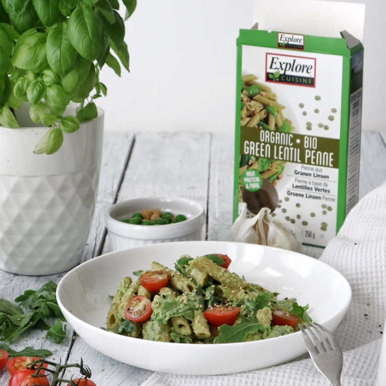 Vegan Lentil Penne Recipe