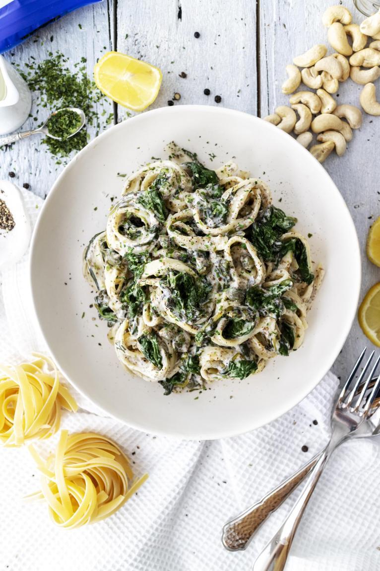Festive Vegan Seafood Pasta Recipe Vegan Christmas