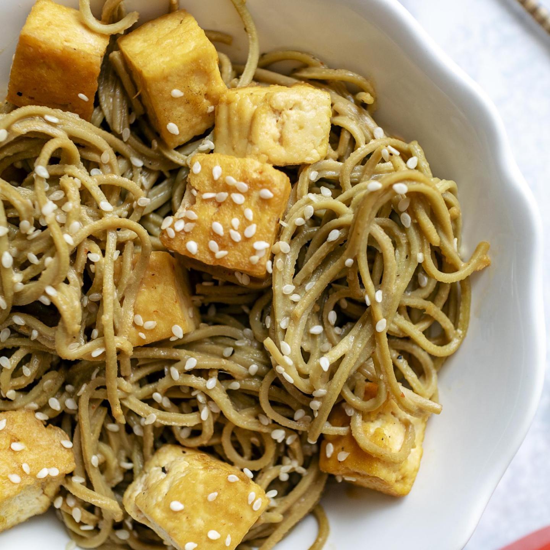 Simple Sesame Noodles (Vegan + High Protein)