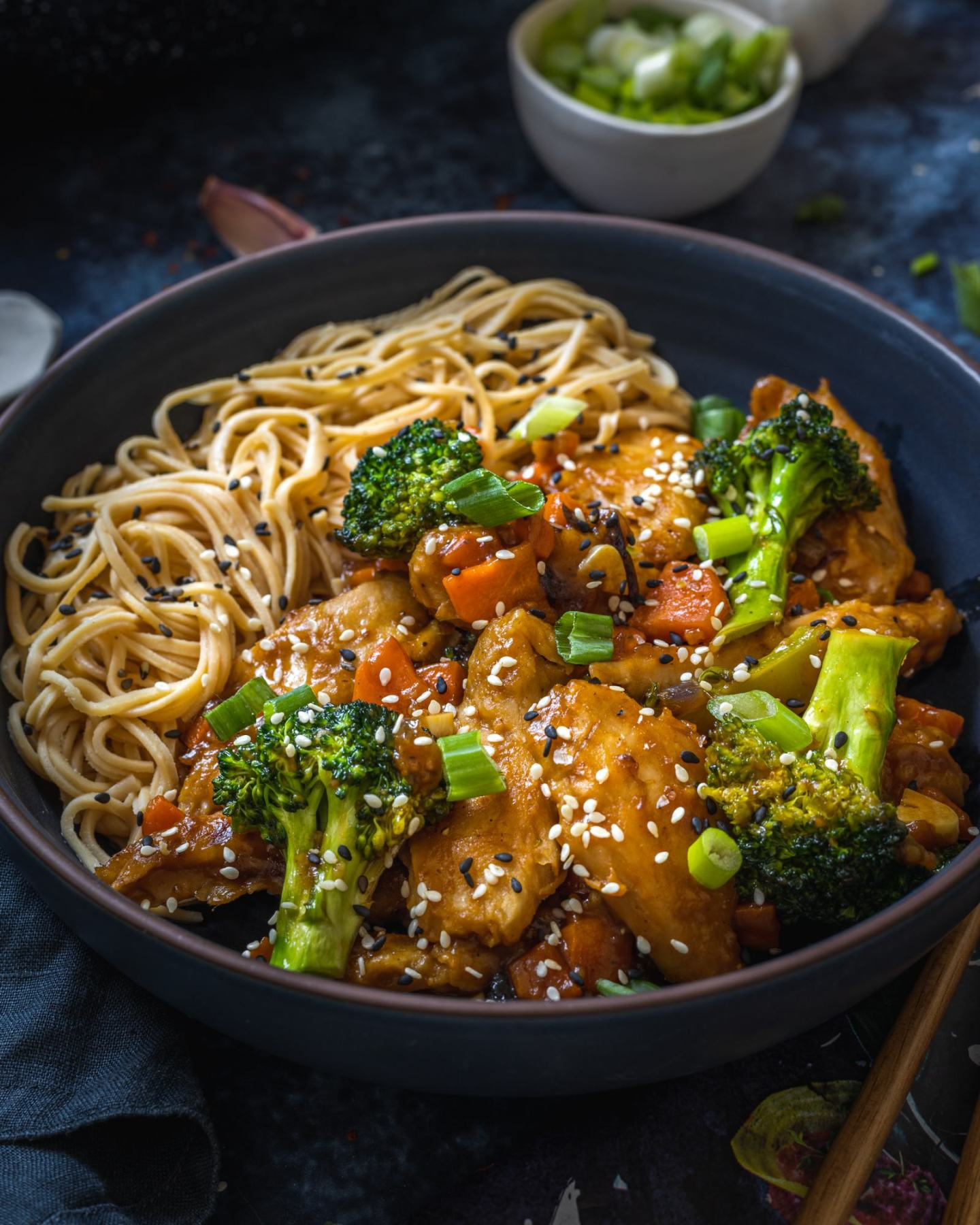 Vegan Teriyaki Sauce Bowl