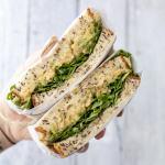 Easy Chickpea Tuna Sandwich