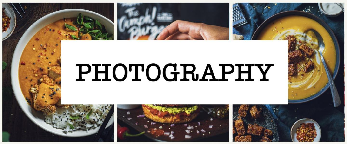 food and product photography