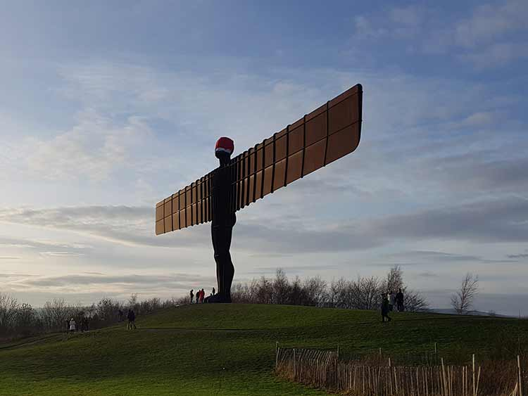 Angel of the North - Landscape