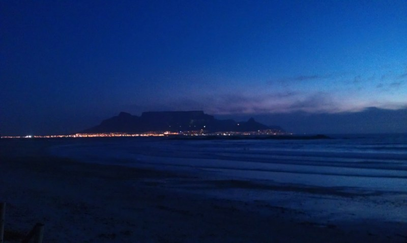 Taken from Big Bay, shortly after sunset.
