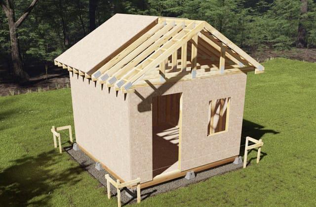 Build A Backyard Shed Rona