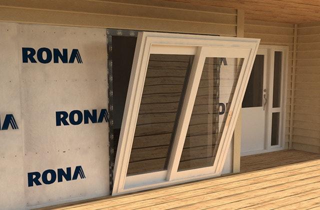 install a sliding patio door rona