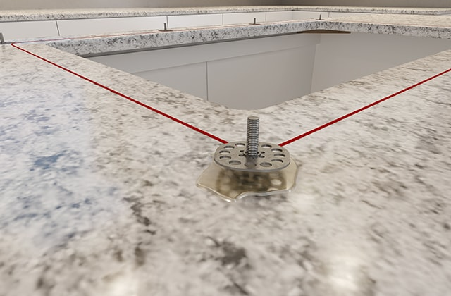 install an undermount sink in a solid